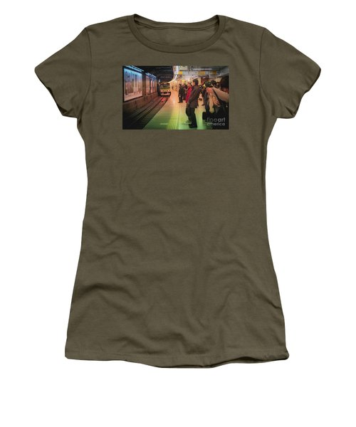 Tokyo Metro, Japan Women's T-Shirt (Athletic Fit)