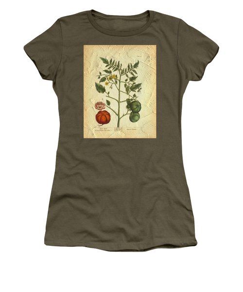 Tomato Plant Vintage Botanical Women's T-Shirt