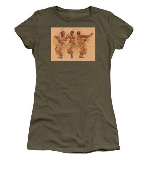 Tonga Dance From Niuafo'ou Women's T-Shirt