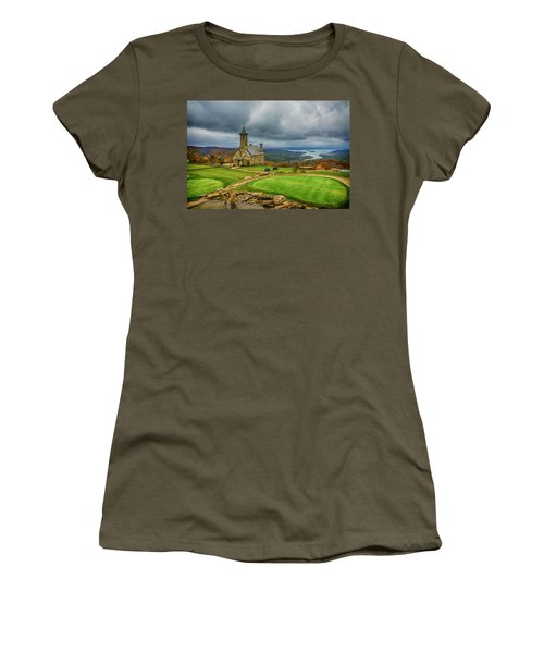 Top Of The Rock Branson Mo 7r2_dsc2627_16-11-25 Women's T-Shirt (Junior Cut) by Greg Kluempers