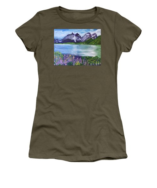 Torres Del Paine In Chile Women's T-Shirt (Athletic Fit)