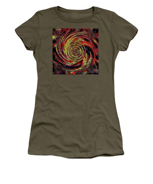 Total Water Swirl Effect  Women's T-Shirt