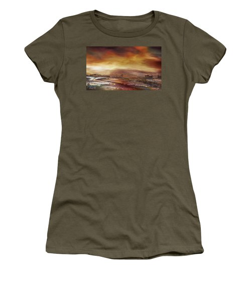 Touch By The Sunrise Women's T-Shirt
