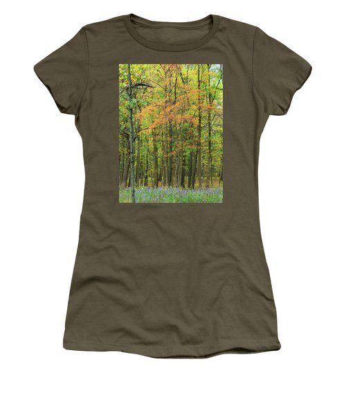 Touch Of Autumn Women's T-Shirt (Athletic Fit)