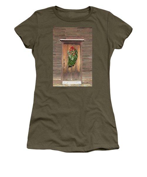Touch Of Christmas Women's T-Shirt (Junior Cut)