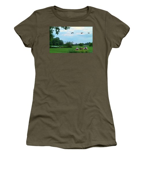Touring New England Women's T-Shirt (Athletic Fit)