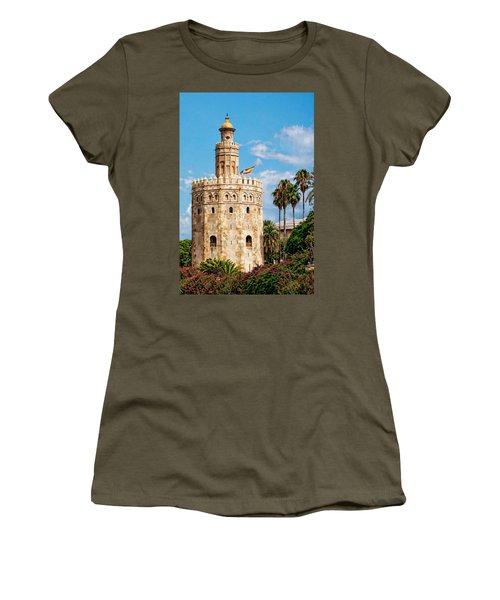 Tower Of Gold Women's T-Shirt