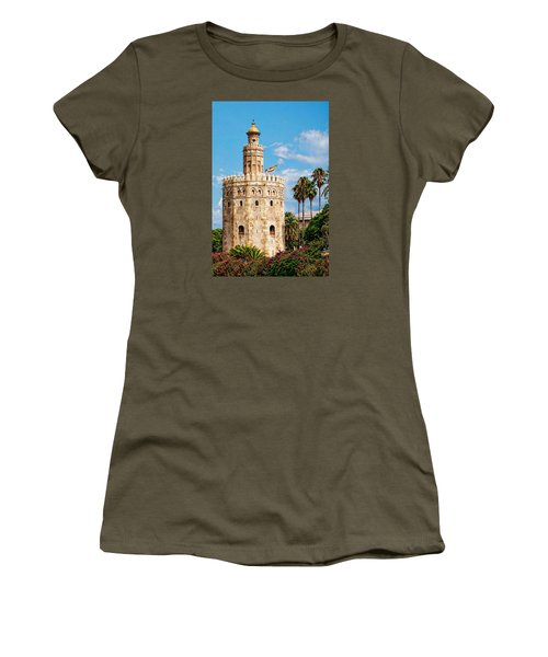 Tower Of Gold Women's T-Shirt