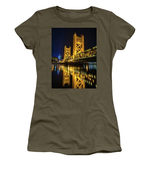 Tower Reflections Women's T-Shirt (Athletic Fit)