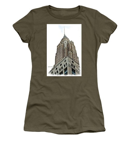 Towering Women's T-Shirt (Athletic Fit)