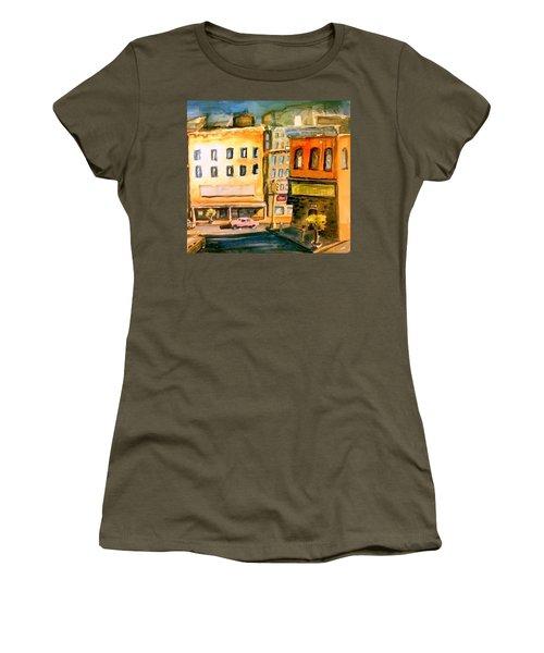 Town Women's T-Shirt (Junior Cut) by Steven Holder