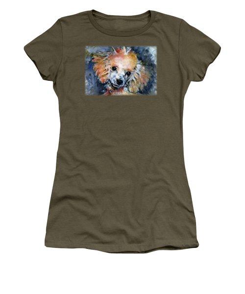 Toy Poodle Shirt Women's T-Shirt (Athletic Fit)