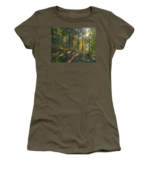 Trail Women's T-Shirt (Junior Cut) by Tim Fitzharris