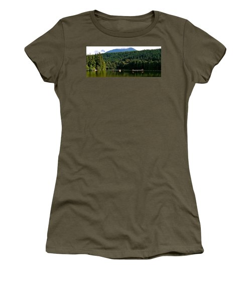 Tranquil Alice Lake Women's T-Shirt (Athletic Fit)