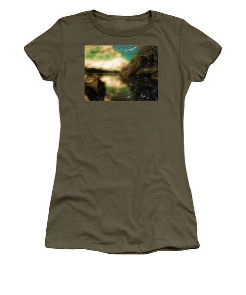 Tranquil Nature Awaits Women's T-Shirt