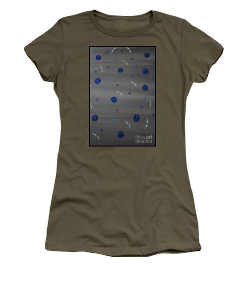 Tranquil Acrylic Abstract Women's T-Shirt