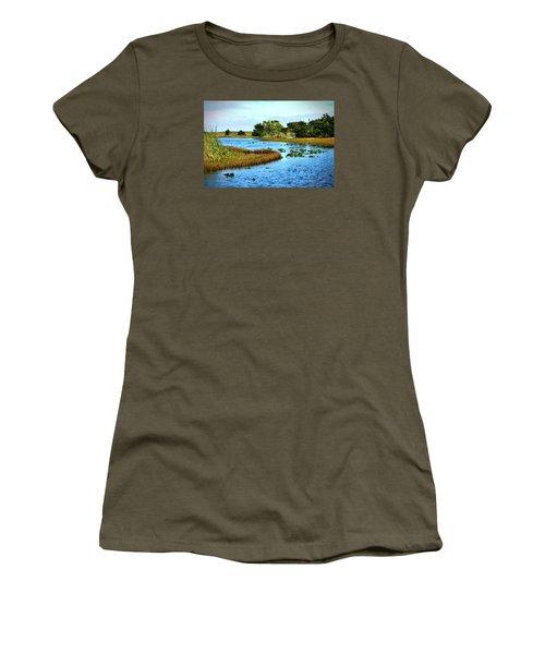 Tranquility... Women's T-Shirt (Junior Cut) by Edgar Torres