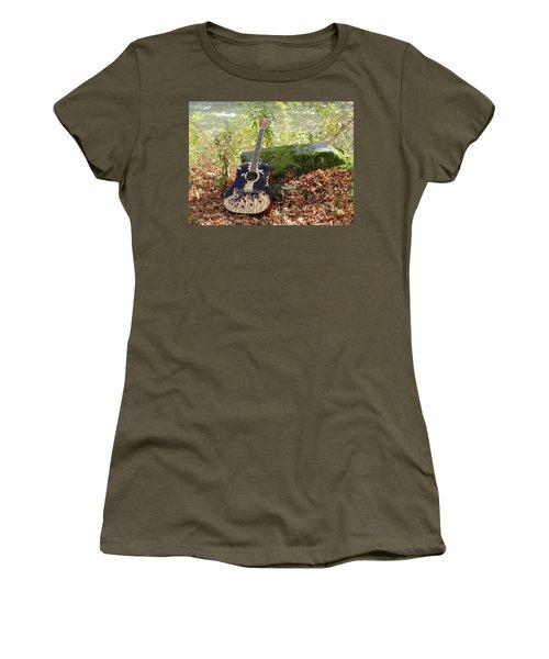 Traveling Musician Women's T-Shirt