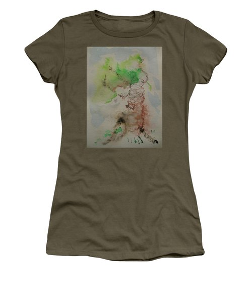 Tree Women's T-Shirt (Junior Cut) by AJ Brown