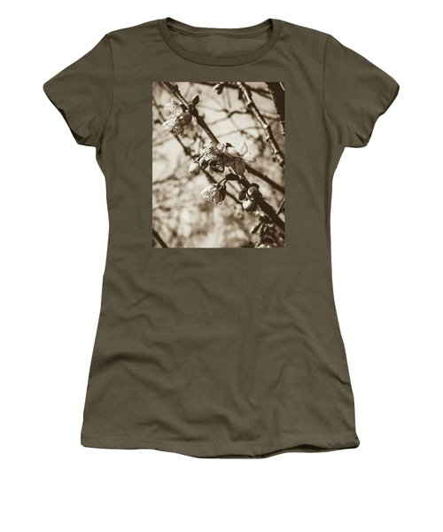 Women's T-Shirt featuring the photograph Tree Blossom B by Jacek Wojnarowski
