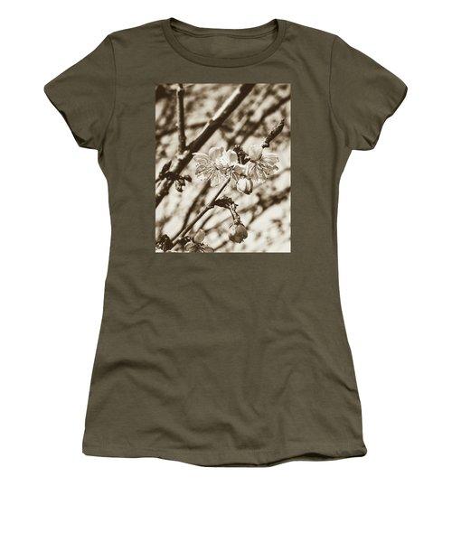 Women's T-Shirt featuring the photograph Tree Blossom C by Jacek Wojnarowski