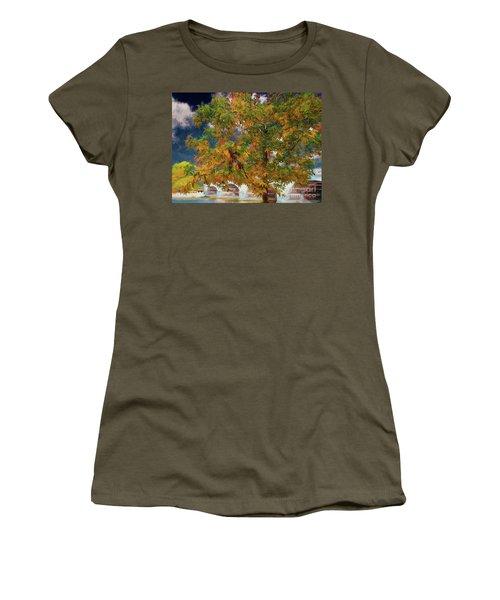 Tree By The Bridge Women's T-Shirt