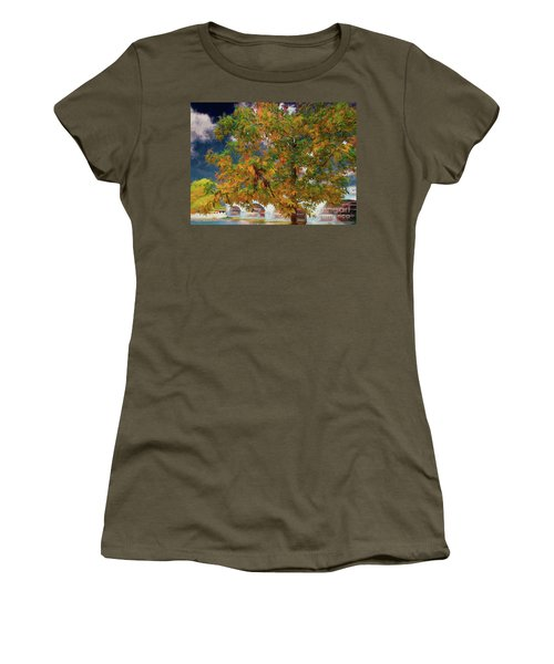 Tree By The Bridge Women's T-Shirt