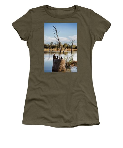 Tree Image Women's T-Shirt (Junior Cut) by Douglas Barnard