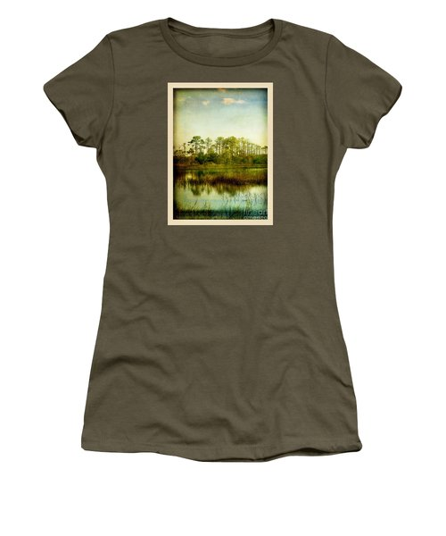 Women's T-Shirt (Junior Cut) featuring the photograph Tree Laces by Linda Olsen