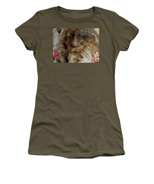 Women's T-Shirt (Junior Cut) featuring the photograph Tree Memories # 34 by Ed Hall