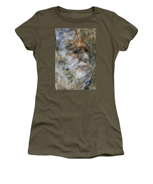 Women's T-Shirt (Junior Cut) featuring the photograph Tree Memories # 40 by Ed Hall