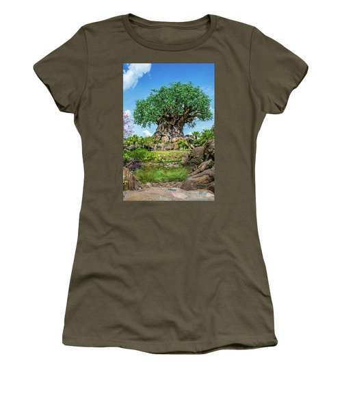 Tree Of Life Women's T-Shirt (Junior Cut) by Pamela Williams