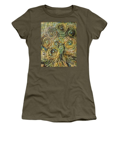 Tree Of Swirls Women's T-Shirt (Athletic Fit)