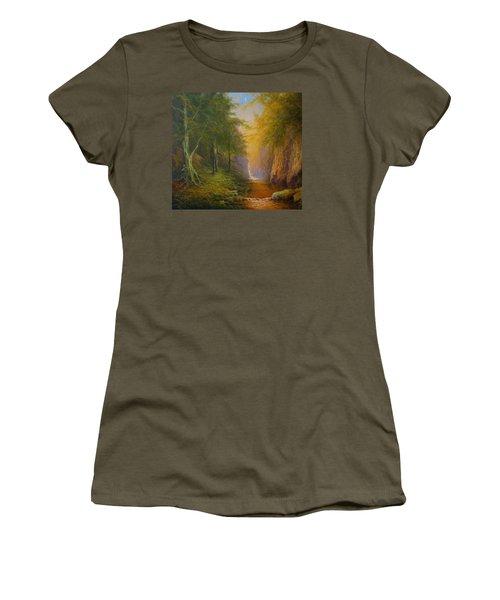 Tree Spirit Women's T-Shirt (Athletic Fit)