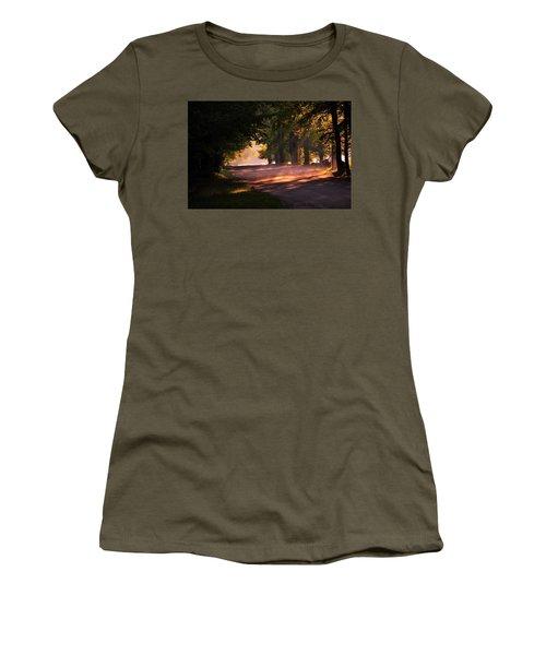Tree Tunnel Women's T-Shirt