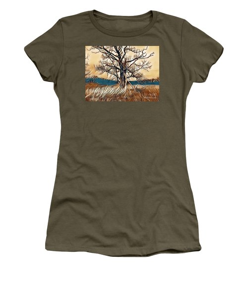 Tree1 Women's T-Shirt (Athletic Fit)