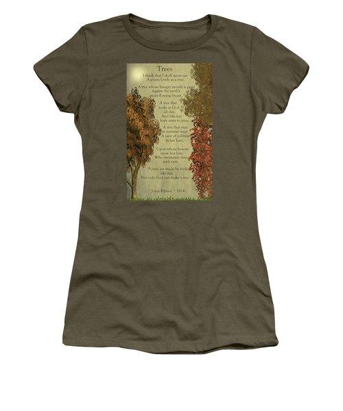 Trees Women's T-Shirt (Junior Cut)
