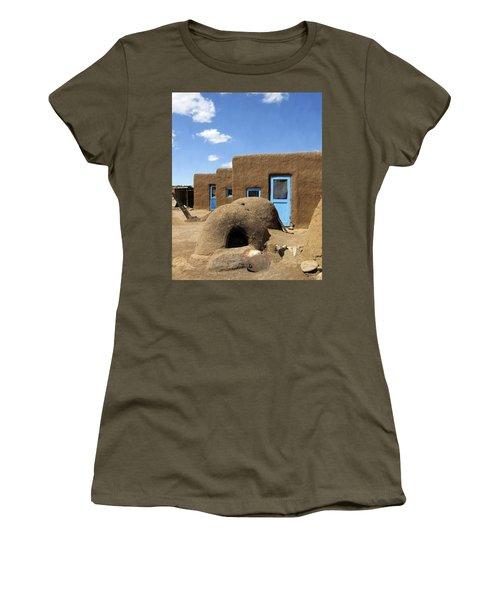 Tres Casitas Taos Pueblo Women's T-Shirt