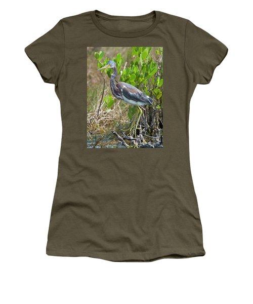 Tricolored Heron Women's T-Shirt