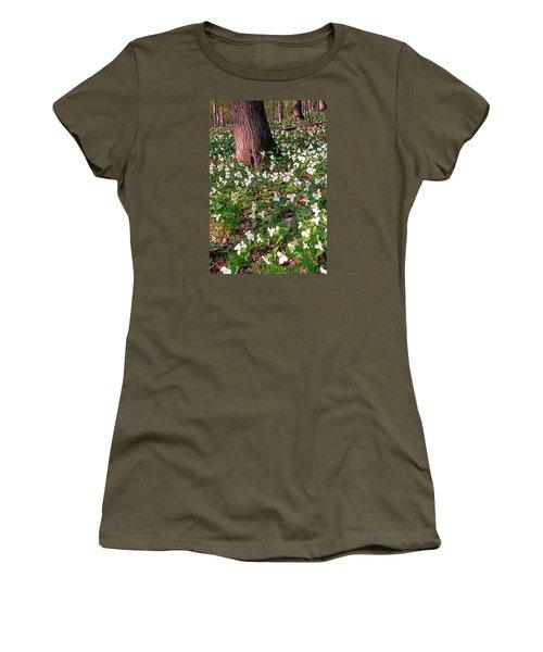 Trillium Woods No. 1 Women's T-Shirt (Athletic Fit)
