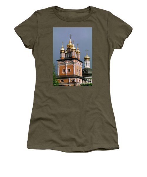 Trinity Lavra Of St. Sergius Monastery Sergiev Posad Zagorsk Women's T-Shirt (Junior Cut) by Wernher Krutein