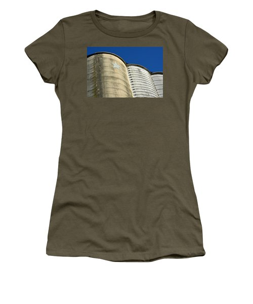 Triple Silo With Star Women's T-Shirt