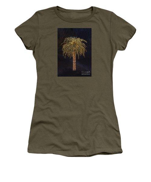 Tropical Christmas Women's T-Shirt (Junior Cut) by Kevin McCarthy