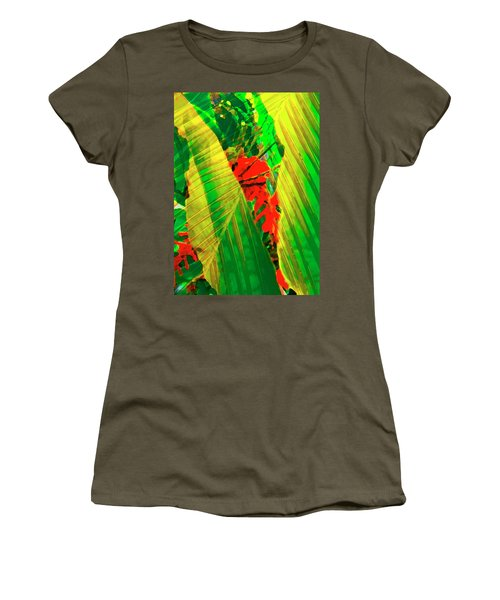 Tropical Fusion Women's T-Shirt (Junior Cut) by Stephen Anderson