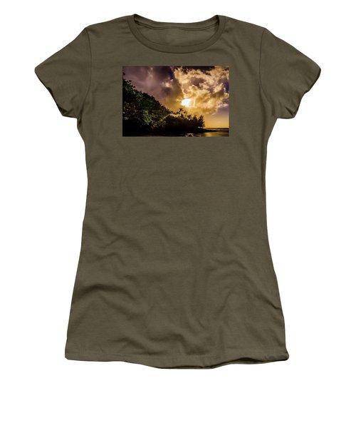 Tropical Sunset Women's T-Shirt