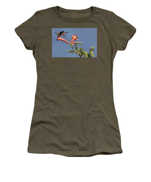 Trumpet Call Women's T-Shirt (Athletic Fit)