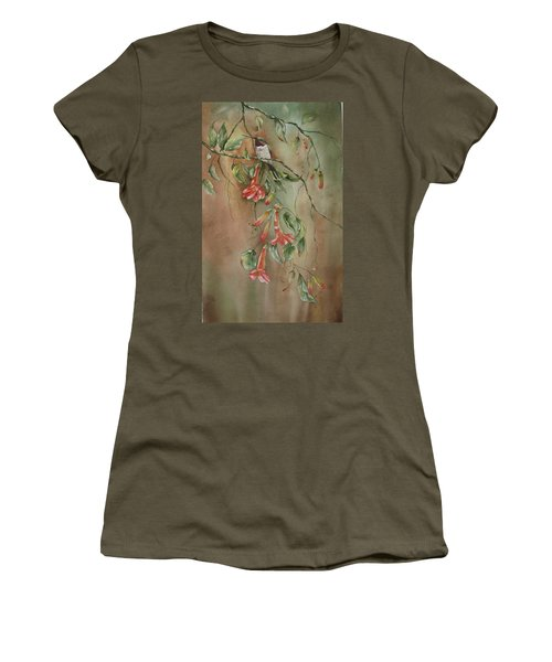 Trumpet Nectar Women's T-Shirt (Athletic Fit)