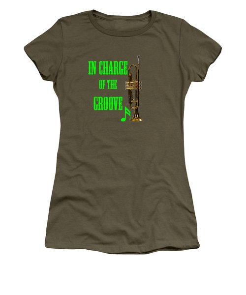 Trumpets In Charge Of The Groove 5535.02 Women's T-Shirt (Junior Cut) by M K  Miller