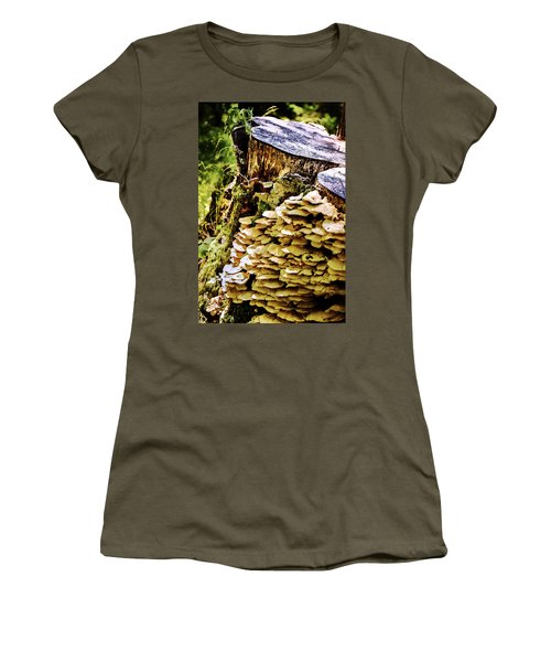 Trunk And Mushrooms Women's T-Shirt