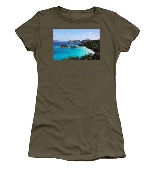 Trunk Bay, St. John Women's T-Shirt